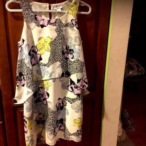 Bar III lined dress xs